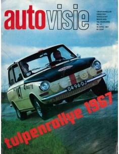 1967 AUTOVISIE MAGAZIN 17 NIEDERLÄNDISCH