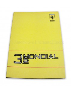 1988 FERRARI 3.2 MONDIAL OWNER'S MANUAL 517/88