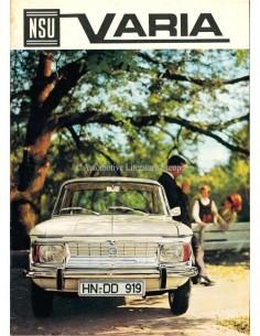 1965 NSU VARIA BROCHURE DUTCH