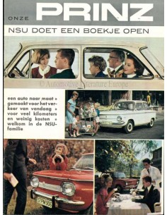 1965 NSU BROCHURE NEDERLANDS