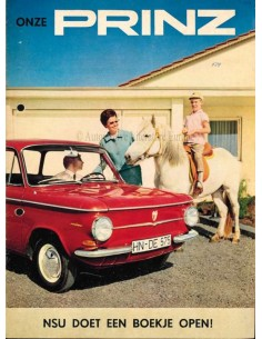 1965 NSU PRINZ BROCHURE DUTCH