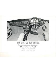 1977 BRISTOL 600 SERIES PROSPEKT ENGLISCH