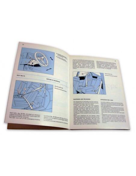 1988 FERRARI 3.2 MONDIAL INSTRUCTIEBOEKJE 517/88