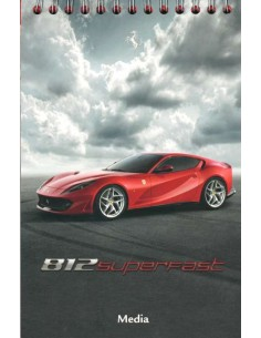 2017 FERRARI 812 SUPERFAST MEDIA BROCHURE ENGLISH