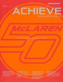 2013 MCLAREN ACHIEVE MAGAZINE ENGLISH