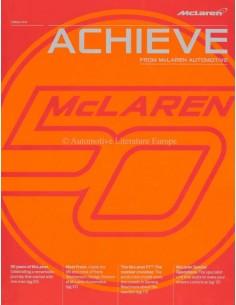 213 MCLAREN ACHIEVE MAGAZIN ENGLISCH