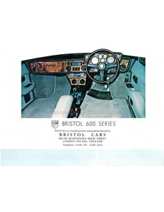 1976 BRISTOL 600 SERIES BROCHURE ENGLISH