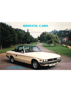 1983 BRISTOL RANGE BROCHURE ENGLISH