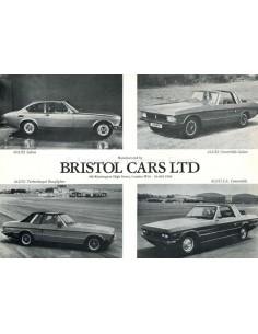 1987 BRISTOL 603 + 412 PROSPEKT ENGLISCH