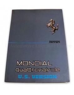 1984 FERRARI MONDIAL QUATTROVALVOLE INSTRUCTIEBOEKJE USA 308/84