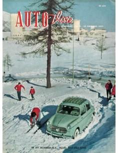 1957 AUTOVISIE MAGAZIN 4 NIEDERLÄNDISCH