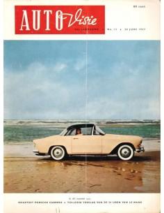 1957 AUTOVISIE MAGAZINE 13 NEDERLANDS