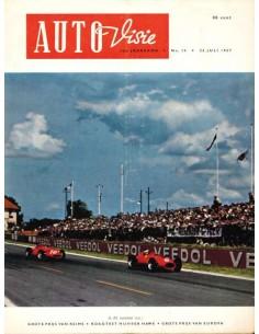 1957 AUTOVISIE MAGAZIN 15 NIEDERLÄNDISCH