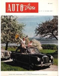 1957 AUTOVISIE MAGAZIN 17 NIEDERLÄNDISCH