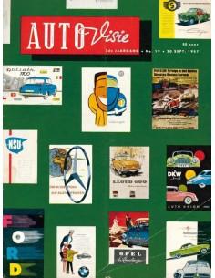 1957 AUTOVISIE MAGAZINE 19 NEDERLANDS