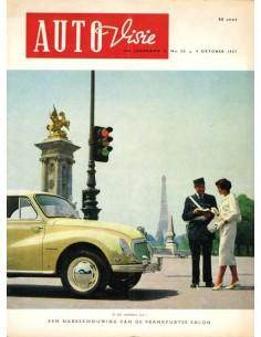 1957 AUTOVISIE MAGAZIN 20 NIEDERLÄNDISCH