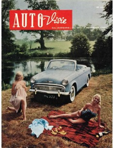 1957 AUTOVISIE MAGAZIN 22 NIEDERLÄNDISCH
