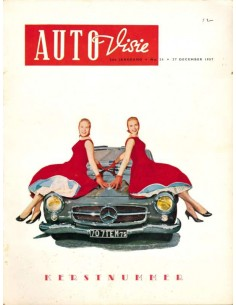 1957 AUTOVISIE MAGAZINE 26 DUTCH