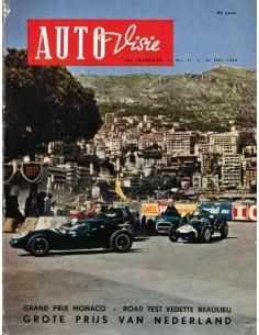 1958 AUTOVISIE MAGAZIN 11 NIEDERLÄNDISCH