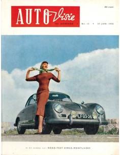 1958 AUTOVISIE MAGAZINE 13 NEDERLANDS