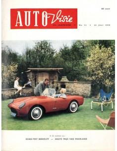 1958 AUTOVISIE MAGAZIN 15 NIEDERLÄNDISCH