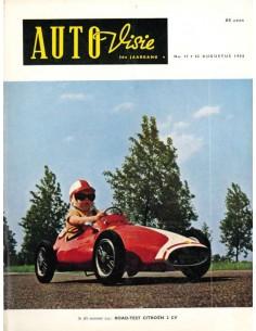 1958 AUTOVISIE MAGAZIN 17 NIEDERLÄNDISCH