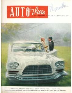 1958 AUTOVISIE MAGAZIN 18 NIEDERLÄNDISCH