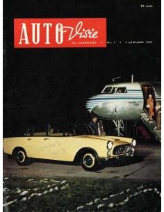 1959 AUTOVISIE MAGAZINE 1 NEDERLANDS