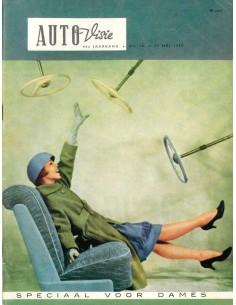 1959 AUTOVISIE MAGAZIN 10 NIEDERLÄNDISCH