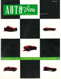 1959 AUTOVISIE MAGAZINE 11 DUTCH