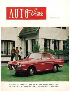 1959 AUTOVISIE MAGAZIN 13 NIEDERLÄNDISCH
