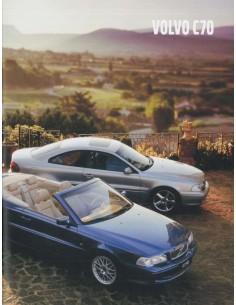 2001 VOLVO C70 COUPE / CONVERTIBLE PROSPEKT NIEDERLÄNDISCH