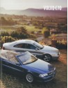 2001 VOLVO C70 COUPE / CONVERTIBLE BROCHURE NEDERLANDS