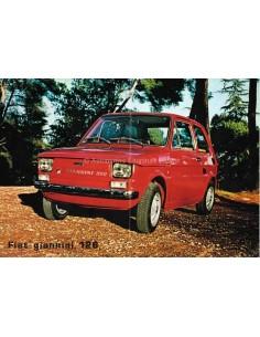 1976 FIAT GIANNINI 126 LEAFLET ITALIENISCH