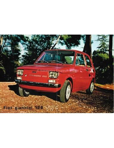 1976 FIAT GIANNINI 126 LEAFLET ITALIAN