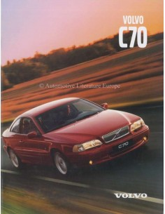 2000 VOLVO C70 COUPE / CONVERTIBLE BROCHURE DUTCH