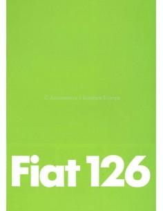 1979 FIAT 126 PROSPEKT DEUTSCH