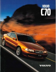 1999 VOLVO C70 COUPE / CONVERTIBLE PROSPEKT DEUTSCH