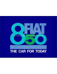 1964 FIAT 850 BROCHURE ENGLISH