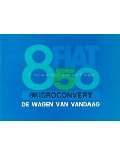 1968 FIAT 850 IDROCONVERT BROCHURE DUTCH