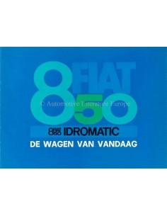 1967 FIAT 850 IDROMATIC PROSPEKT NIEDERLÄNDISCH