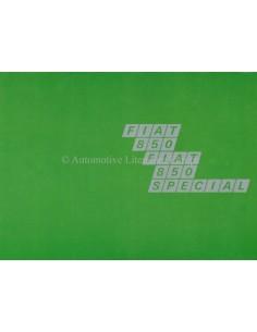 1967 FIAT 850 / SPECIAL PROSPEKT NIEDERLÄNDISCH