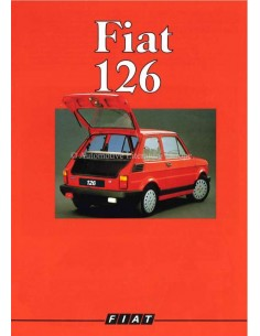 1988 FIAT 126 BROCHURE GERMAN