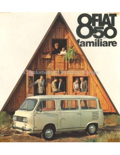 1964 FIAT 850 FAMILIARE PROSPEKT
