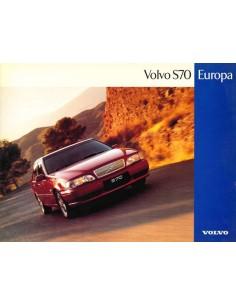 1997 VOLVO S70 LEAFLET DUTCH