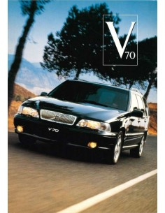 1996 VOLVO V70 BROCHURE DUTCH