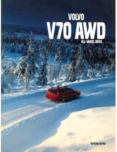 1998 VOLVO V70 AWD BROCHURE DUTCH