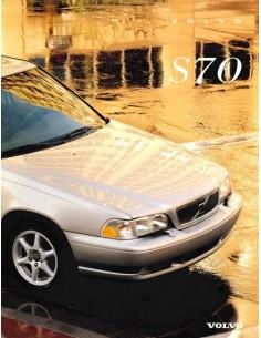 1997 VOLVO S70 BROCHURE ENGLISH