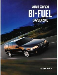 1998 VOLVO S70 / V70 BI-FUEL BROCHURE DUTCH
