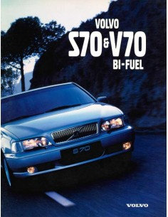 1998 VOLVO S70 / V70 BI-FUEL BROCHURE GERMAN